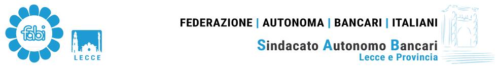 Federazione Autonoma Bancari Italiani - Sindacato Lecce