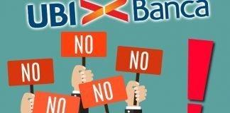 UBI BAnca No alle Esternalizzazioni