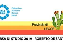 Borsa di Studio 2019 Roberto De Santis