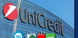 Unicredit: Incontro con i sindacati